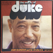 LP-Box - Duke Ellington And His Orchestra - The Works Of Duke - Vol. 1 To 5