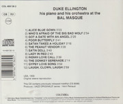 CD - Duke Ellington And His Orchestra - Bal Masque