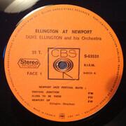 LP - Duke Ellington And His Orchestra - Ellington At Newport