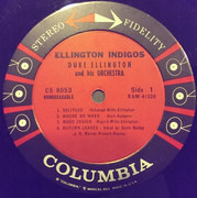 LP - Duke Ellington And His Orchestra - Ellington Indigos - 6 EYE STEREO USA