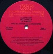 LP - Duke Ellington And His Orchestra - Ellington Jazz Party