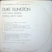 12inch Vinyl Single - Duke Ellington And His Orchestra - Featuring Johnny Hodges