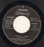 7inch Vinyl Single - Duke Ellington And His Orchestra - Take The 'A' Train / The Mooche