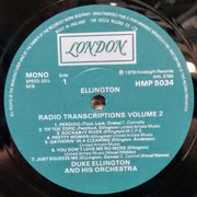 LP - Duke Ellington And His Orchestra - The Radio Transcriptions Vol. 2 - Still Sealed