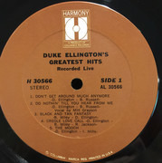 LP - Duke Ellington - Duke Ellington's Greatest Hits