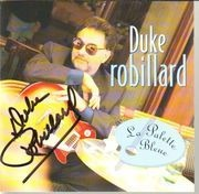 CD - Duke Robillard - La Palette Bleue - Signed