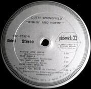 LP - Dusty Springfield - Wishin' & Hopin'