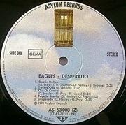 LP - Eagles - Desperado