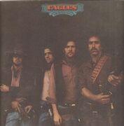 LP - Eagles - Desperado - Textured Cover, Original; Asylum White Label