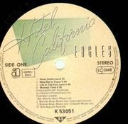 LP - Eagles - Hotel California - ORIGINAL