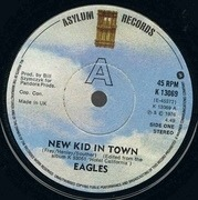 7'' - Eagles - New Kid In Town - Solid Centre