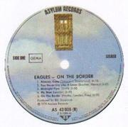 LP - Eagles - On The Border - no labelcode