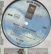 LP - Eagles - On The Border