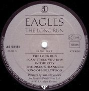 LP - Eagles - The Long Run - Gatefold