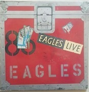 Double LP - Eagles - Eagles Live - + Poster
