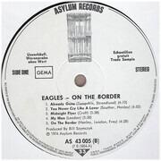LP - Eagles - On The Border - Promo