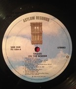 LP - Eagles - On The Border - SP