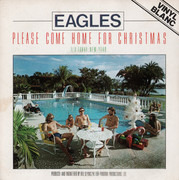 7inch Vinyl Single - Eagles - Please Come Home For Christmas - White