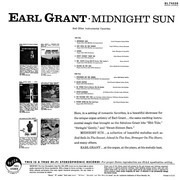 LP - Earl Grant - Midnight Sun