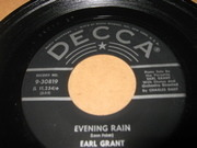 7'' - Earl Grant - Evening Rain