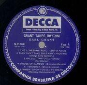LP - Earl Grant - Grant Takes Rhythm