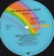 LP - Earl Grant - The Best Of Earl Grant - The End