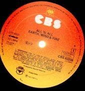 LP - Earth, Wind & Fire - All 'N All - Gatefold, No Poster
