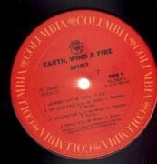 LP - Earth, Wind & Fire - Spirit - Non-Gatefold