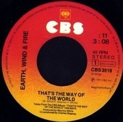 7'' - Earth, Wind & Fire - That's The Way Of The World