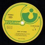 LP - East Of Eden - East Of Eden - Original 1st German