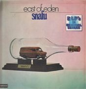 Double LP - East Of Eden - Snafu, Mercator Projected - rare prog
