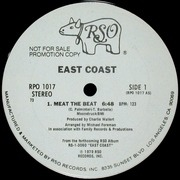 12'' - East Coast - Meat The Beat - PROMO