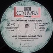 12inch Vinyl Single - Erste Allgemeine Verunsicherung - Küss die Hand, schöne Frau