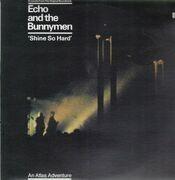 12'' - Echo And The Bunnymen - Shine So Hard