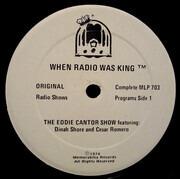 LP - Eddie Cantor - When Radio Was King! (The Eddie Cantor Show)