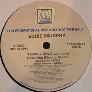 12'' - Eddie Murphy - I Was A King - Promo