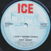7inch Vinyl Single - Eddy Grant - I Don't Wanna Dance - Solid Center