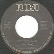 7inch Vinyl Single - Eddy Grant - I Don't Wanna Dance
