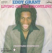 7'' - Eddy Grant - Living On The Frontline