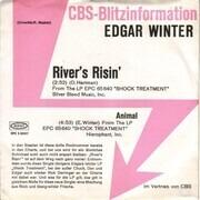 7inch Vinyl Single - Edgar Winter - River's Risin' - Trade Sample