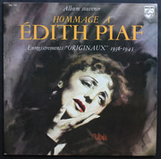 Double LP - Edith Piaf - Hommage À Édith Piaf - Gatefold