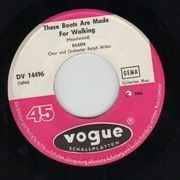 7inch Vinyl Single - Eileen - These Boots Are Made For Walking