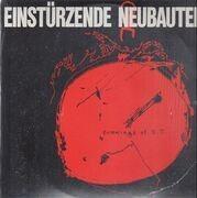 Double LP - Einstürzende Neubauten - Drawings Of O.T. - LP + 12'