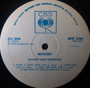 LP - Electric Light Orchestra - Discovery