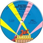LP - Electric Light Orchestra - Olé ELO - Terre Haute pressing