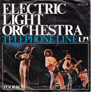 7'' - Electric Light Orchestra - Telephone Line