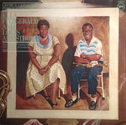 Double LP - Ella Fitzgerald And Louis Armstrong - Porgy And Bess - Gatefold