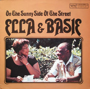 LP - Ella Fitzgerald & Count Basie - On The Sunny Side Of The Street