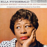 CD - Ella Fitzgerald - Ella Fitzgerald Sings Sweet Songs For Swingers - Card Sleeve