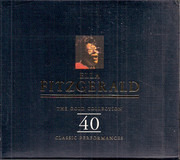 Double CD - Ella Fitzgerald - The Gold Collection - 40 Classic Performances - incl. Cardboard Slipcase